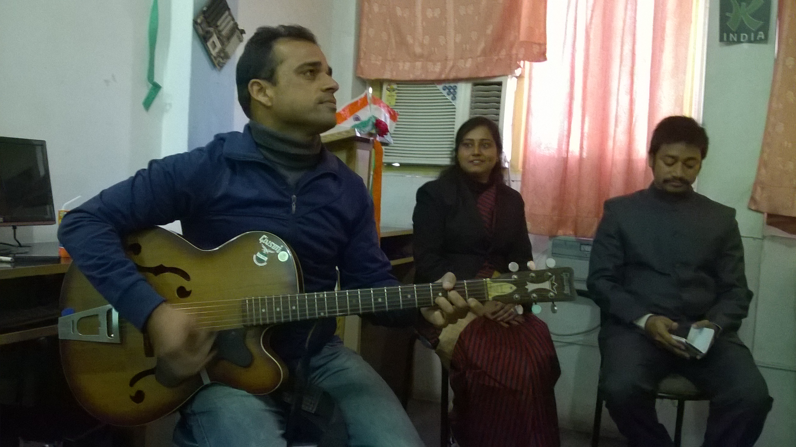 Music on Republic Day  at Kalams Institute 26 Jan